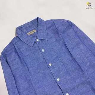 UNIQLO LINEN LONG SHIRT
