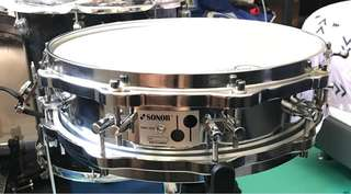 Sonor Phonic Steel D-420 14X4 1980s Snare Drum