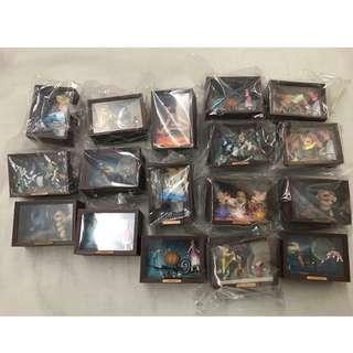 Yujin Disney 情景箱 火柴盒 美人魚 灰姑娘 史迪仔 米奇 愛麗斯 木偶奇遇記 情景箱 情境箱 美術館