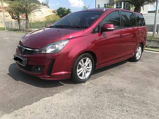SAMBUNG BAYAR/CONTINUE LOAN  PROTON EXORA BOLD 1.6 AUTO YEAR 2014 MONTHLY RM 800 BALANCE 5 YEARS + ROADTAX 2019 LEATHER SEAT DVD PLAYER TIPTOP CONDITION  DP KLIK wasap.my/60133524312/bold