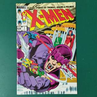 X-Men Classics No.1 comic