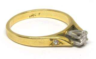 Diamond Anniversary / Wedding Ring - 14ct yellow gold - Size G