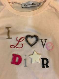CHRISTIAN DIOR GIRL's sweater