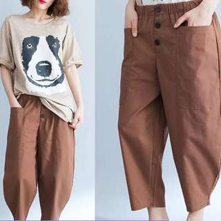 Plus Size Women's loose pants