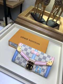 Lv sarah trunk wallet