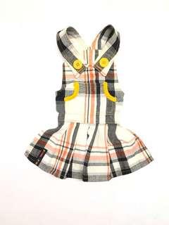 Pooch n' Paws rustic design jumper dress for shih tzu