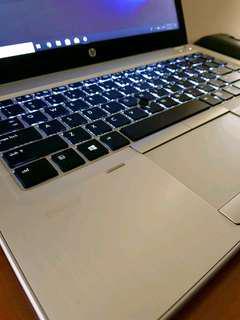 FAST Win10 HP Folio 9470M Ultrabook! 256SSD 8gb i5
