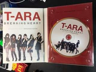 T-ara Breaking heart CD