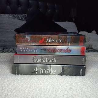Hush, Hush Series by Becca Fitzpatrick