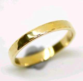 Stunning 18ct Genuine Solid Gold Ring Size - M (Unisex)