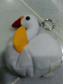 Swan key holder & coin purse