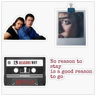 Thirteen Reasons Why Sticker