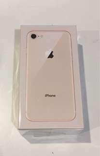 Brand New iPhone 8 64GB Gold with Original Packaging