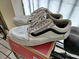 Vans Leather Old Skool Zip DX Original