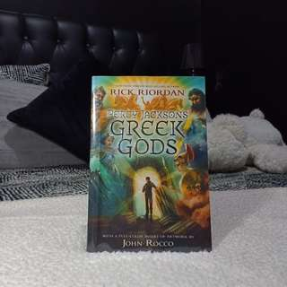 Percy Jackson Greek Gods by Rick Riordan