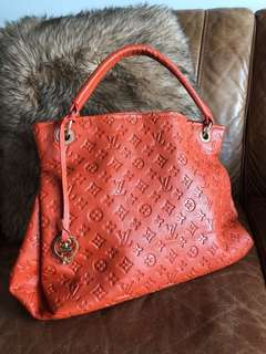 Louis Vuitton Artsy Orange Monogram Bag
