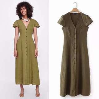 2018 Summer New Linen Dresses Women's Dresses