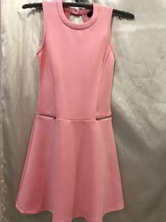 Nichii Pink Midi Sexy Dress