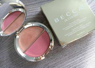 BECCA x Jaclyn Hill Champagne Splits (Highlight and Blush)