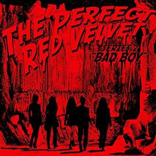 [PO] RED VELVET - THE PERFECT VELVET:BAD BOY