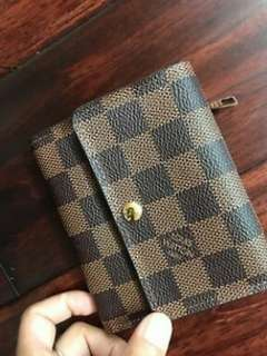 Louis Vuitton Authentic Damier Wallet NEW