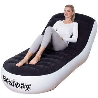 Inflatable chair and bed
