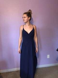 Navy ball dress - FOR RENT