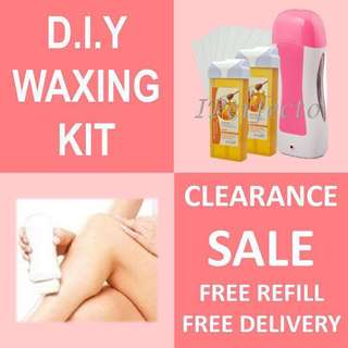 Hair Removal Kit Portable Wax Heater / Waxing Kit