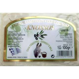 DONKEY'S MILK OLIVE OIL SOAP (MADE IN GREECE)