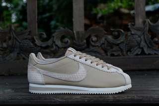 Nike classic cortez beige leather original rare