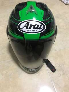 Arai Ram 4 YF design (chronus green )