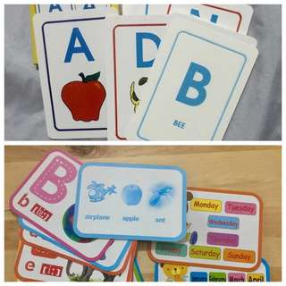 Flash Cards - Letters
