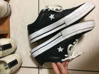 🚚 Converse one star 黑白