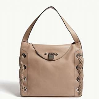 JIMMY CHOO Rion grainy soft leather tote