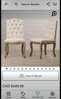 Dining Chairs (Pick up Bolton)