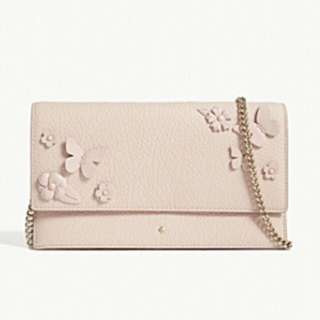 KATE SPADE NEW YORK Layden Street Brennan leather clutch