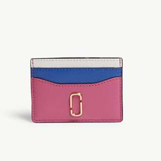 MARC JACOBS Snapshot Saffiano leather card holder