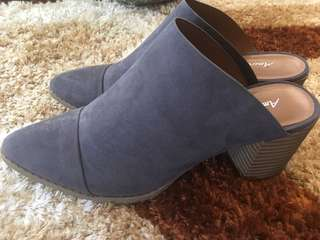 Brand New Blocked Heel Mules