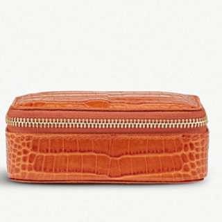 SMYTHSON Mara leather trinket case large