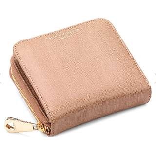 ASPINAL OF LONDON Mini continental leather cloin purse