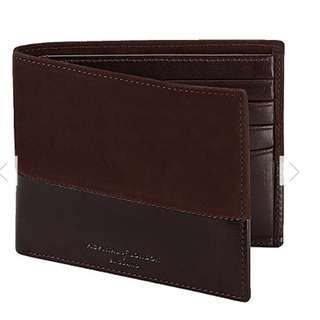 ASPINAL OF LONDON Shadow billfold leather wallet