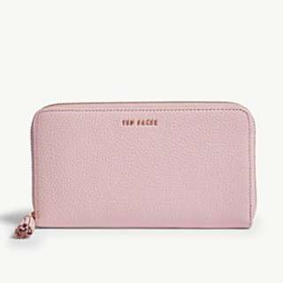 TED BAKER Sheea grained leather matinee purse