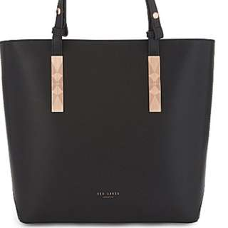 Ted Baker Jaceyy leather shopper bag