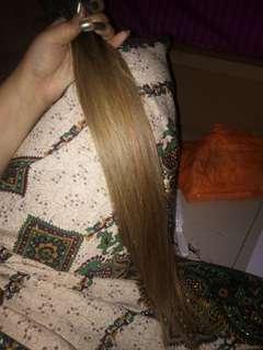 Rambut extention rambut sambung hairclip