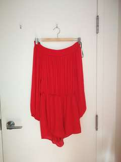 F21 off the shoulder jumper size small