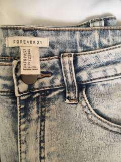 Forever 21 High Waisted Jeans