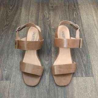 Unlisted Block Heel Sandals