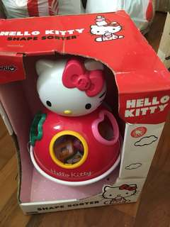 *Brand New Hello kitty Shape Sorter