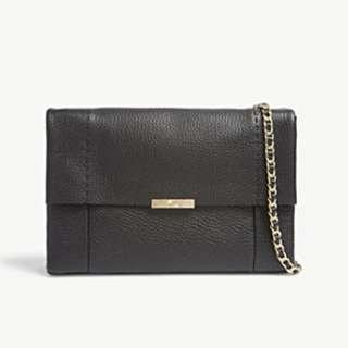 TED BAKER Parson metallic leather cross-body bag