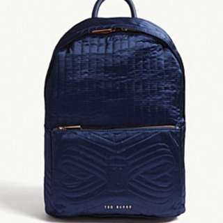 TED BAKER Akija quilted nylon backpack